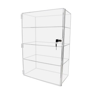 Vertical Acrylic Display Case Plexiglass Showcase