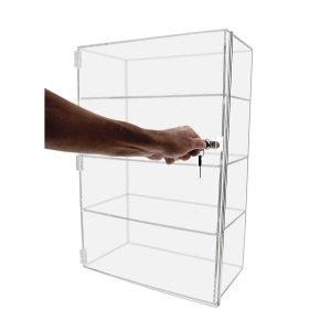 Vertical Acrylic Display Case Plexiglass Showcase