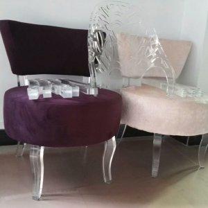 Clear Acrylic Furniture Acrylic Chair Leg