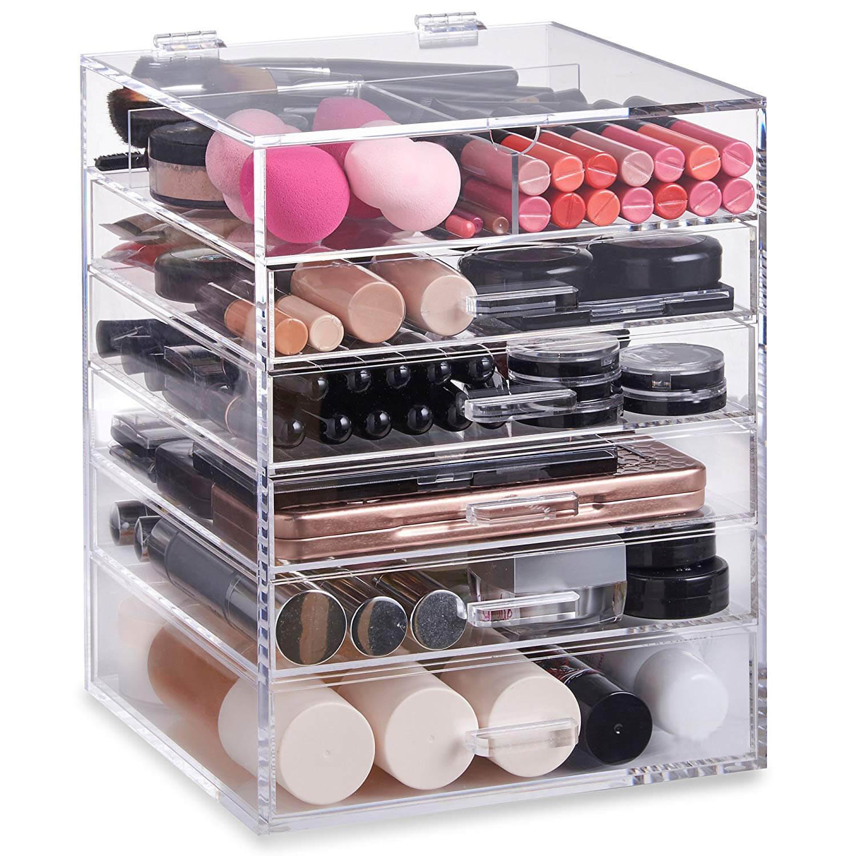 Acrylic Makeup Organizer Manufacturer