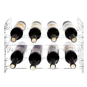 Clear Acrylic Wine Rack