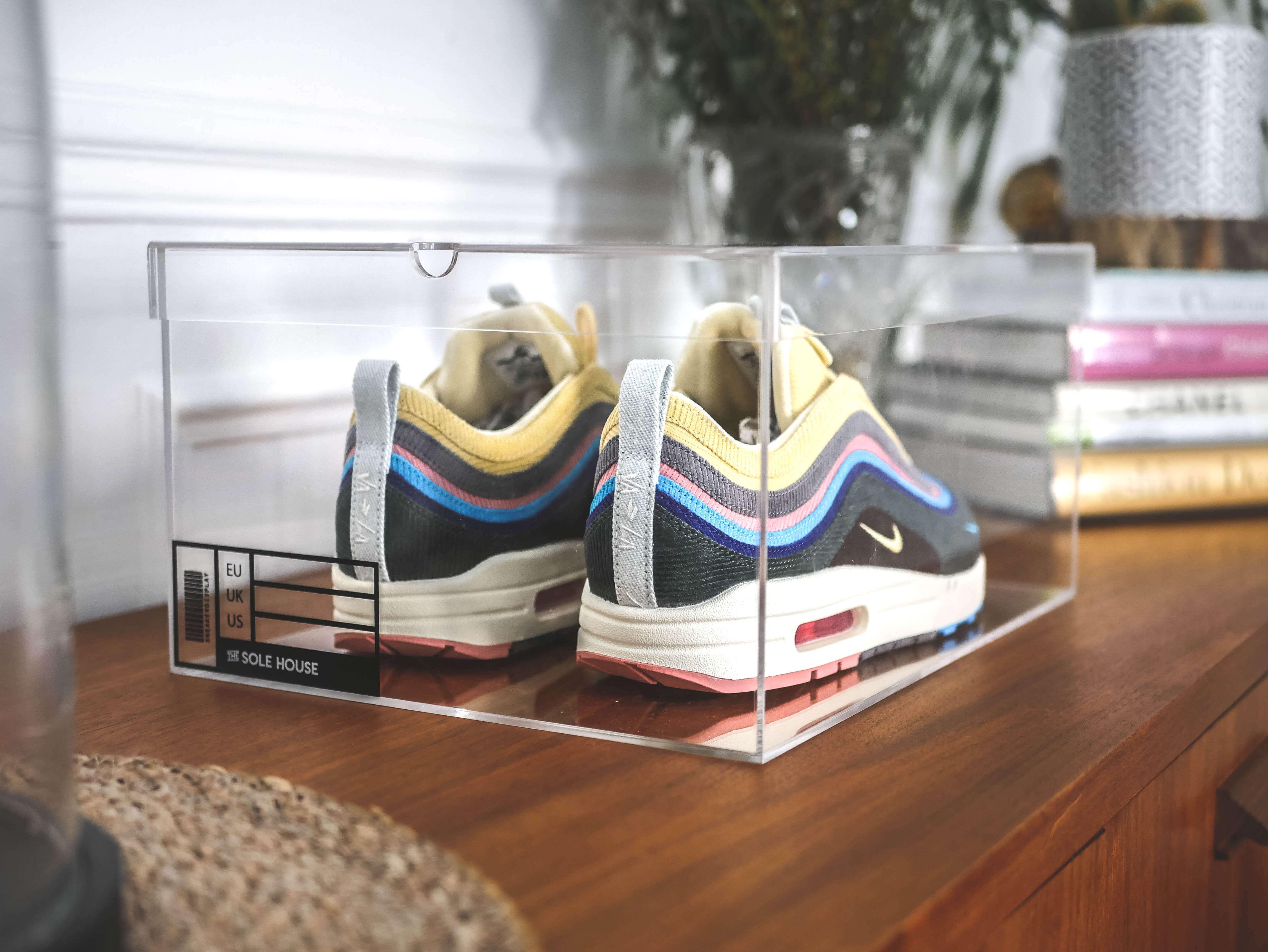 Feedback of Clear Acrylic Shoes Box
