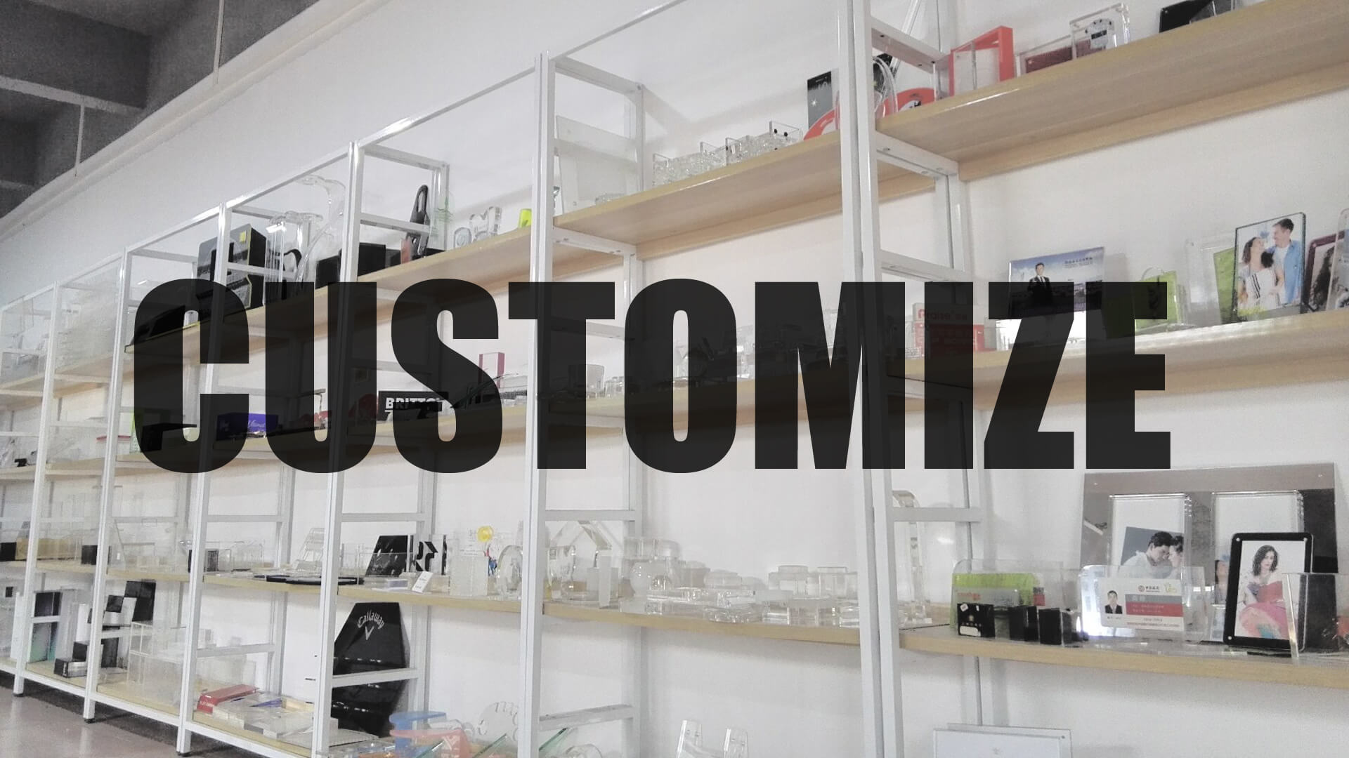 Customize Acrylic Display