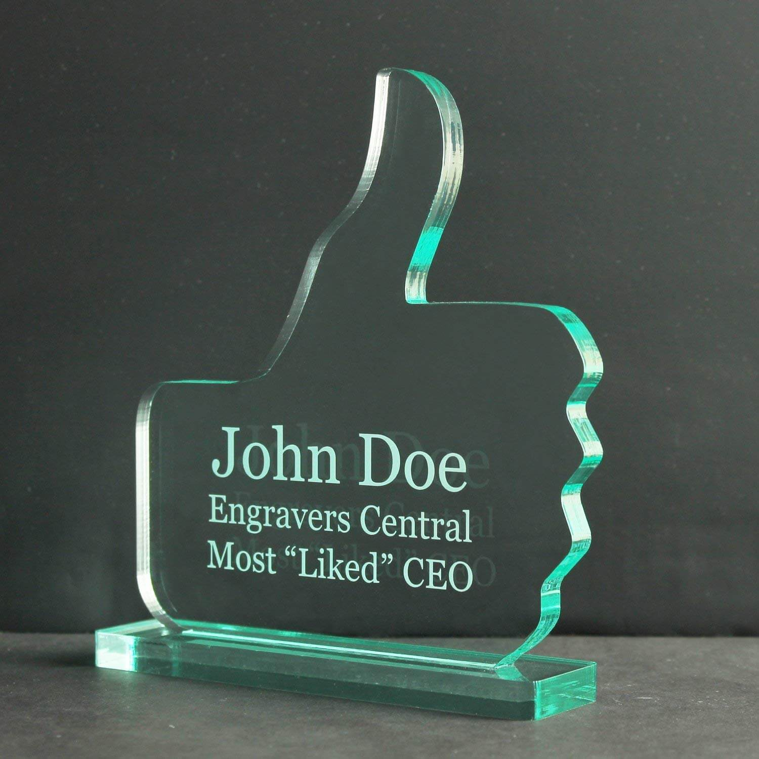 Personalized Perfect Recognition Appreciation Achievement Trophy