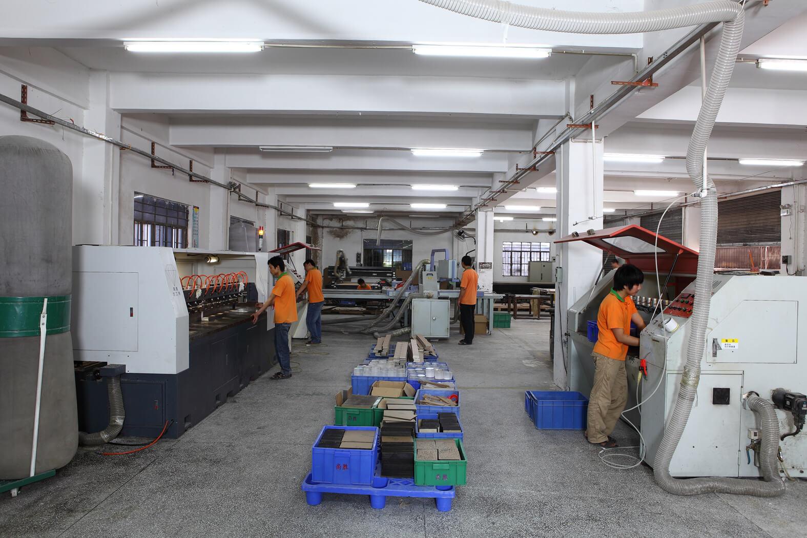 Acrylic Processing Equipment Workshop