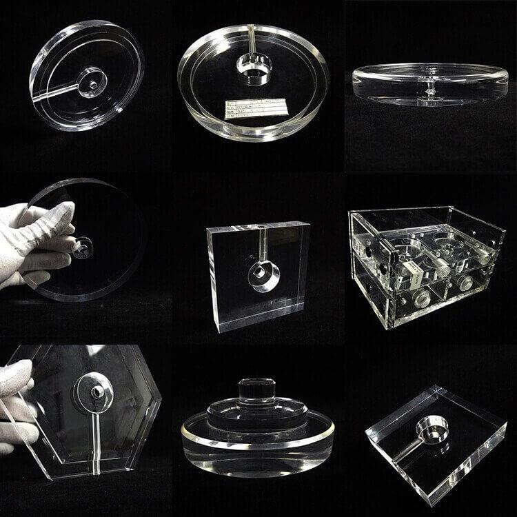 Acrylic Lamp Base