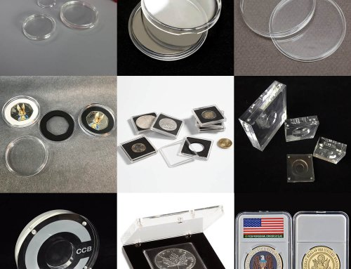Acrylic Coin Capsules