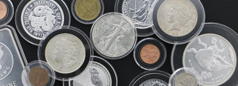 Clear Acrylic Coin Capsules