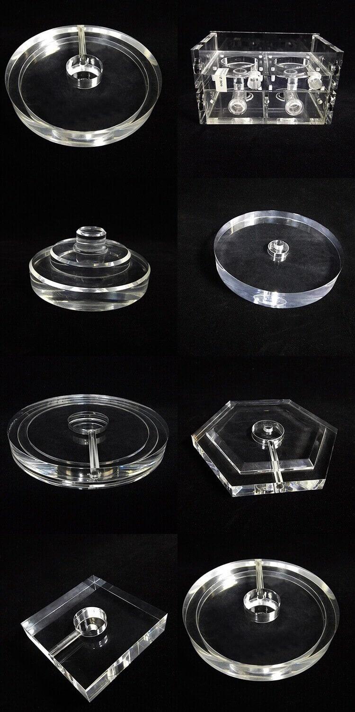 Clear Acrylic Desk Lamp Parts Light Accessarioes