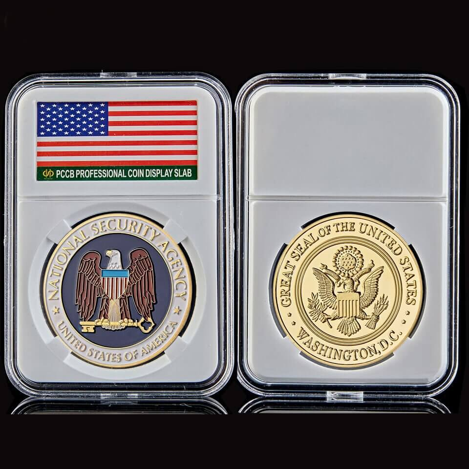 Clear Rectangle Acrylic Coin Case02
