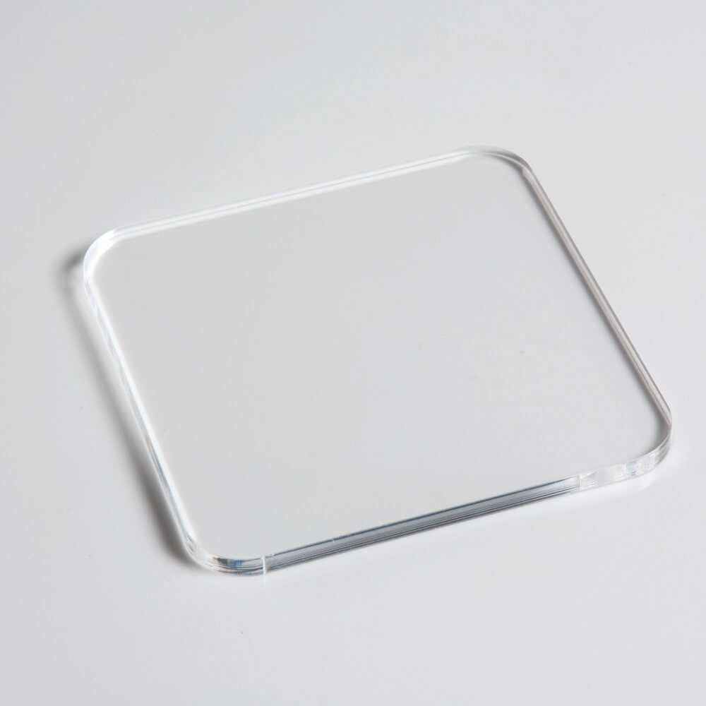 Clear Square Acrylic Coaster