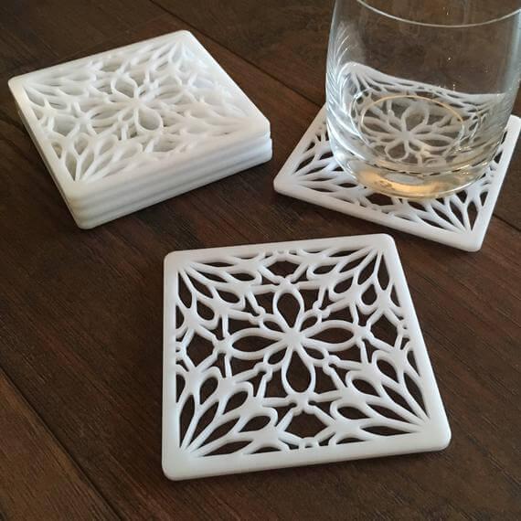 Whitle Acrylic Coasters