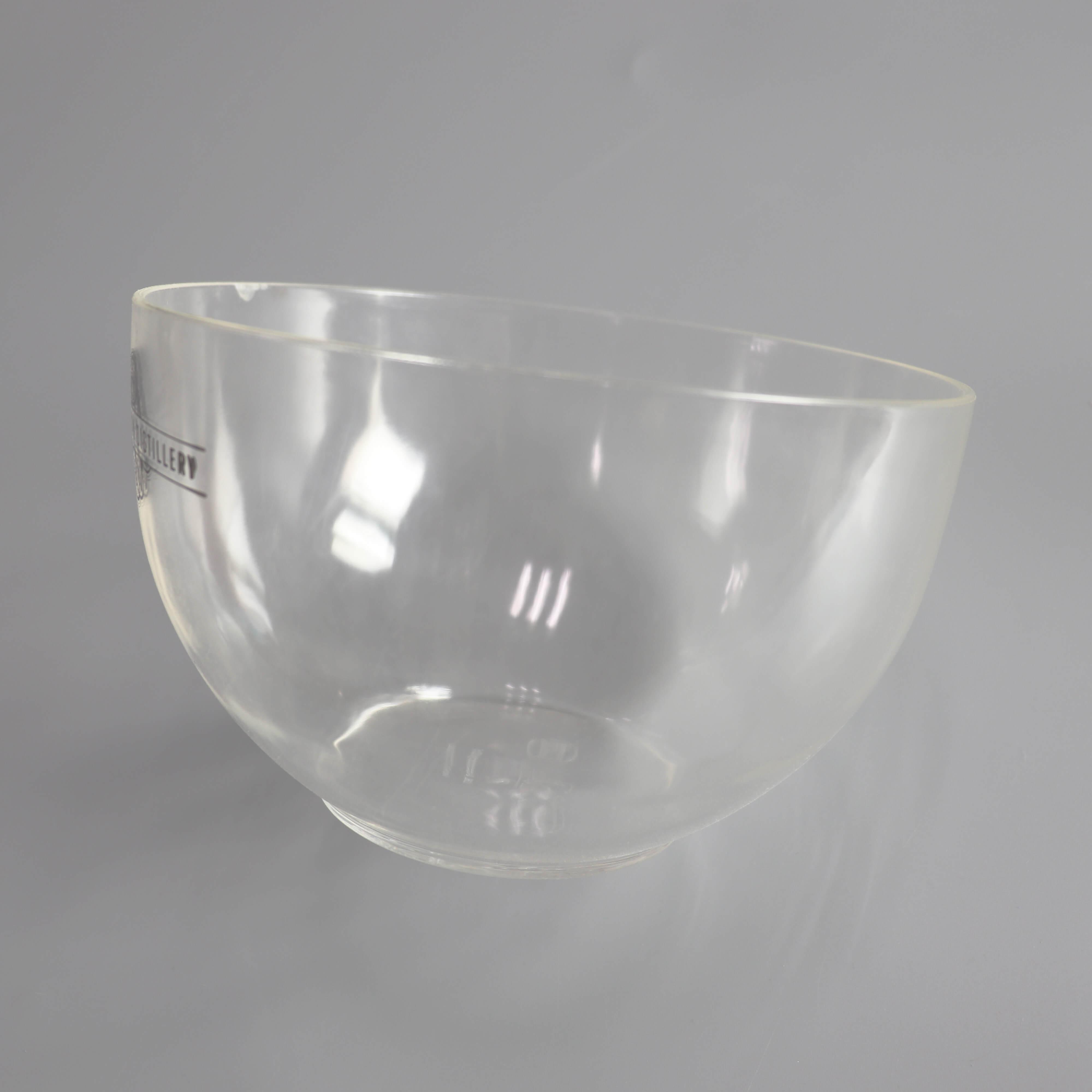 Clear Acrylic Salad Bowl